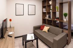 Modern furniture in living room Stock Photography