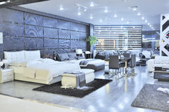 Modern furniture store Stock Photography