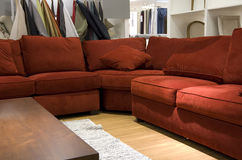 Modern furniture store Royalty Free Stock Images