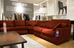 Modern furniture store Stock Photo