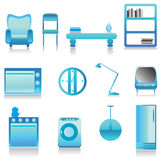 Modern furniture vector 3 Stock Images