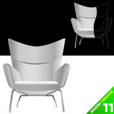 Modern furniture vector Stock Images