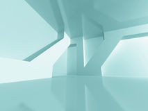 Modern Futuristic Abstract Architecture Background Royalty Free Stock Photography
