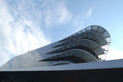 Modern futuristic building Stock Photography
