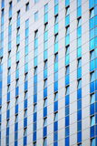 Modern futuristic business building in city Royalty Free Stock Photography