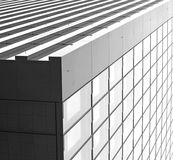 Modern futuristic square structure royalty free stock image