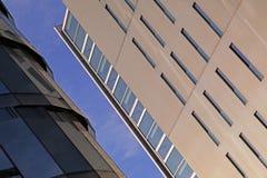Modern futuristic structure insun royalty free stock photography