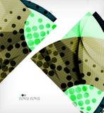 Modern futuristic techno abstract composition Royalty Free Stock Photos