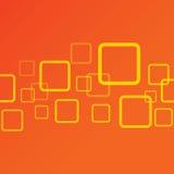Modern fyrkant för abstrakt bakgrund Arkivfoton