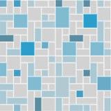 Modern fyrkant tile-04 stock illustrationer