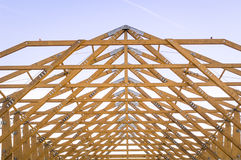 Modern gable Royalty Free Stock Photography