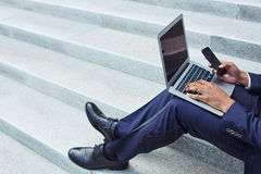 Modern gadgets in business Stock Photography
