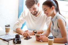 Modern gadgets in our life Royalty Free Stock Image