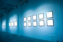 Modern gallery Stock Image