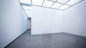 Modern gallery. In berlin - nice background with copy space Stock Image