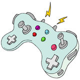 Modern Game Controller Royalty Free Stock Photography