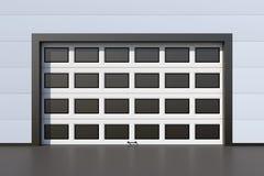 Modern garage door Stock Photography