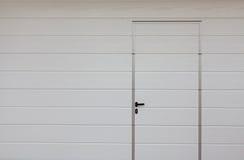 Modern garage door Stock Images