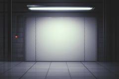Modern garage Stock Image