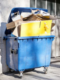 Modern garbage bin Royalty Free Stock Images