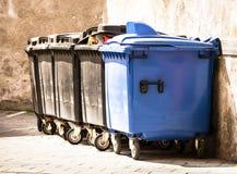 Modern garbage bin Royalty Free Stock Images
