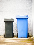 Modern garbage bin Stock Photography