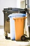 Modern garbage bin Stock Photos