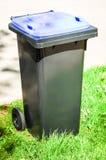 Modern garbage bin Stock Photography