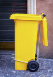 Modern garbage bin Stock Images