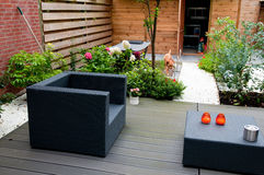 Modern garden Stock Photos