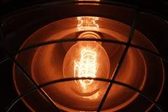 Modern garnering av elektriska lampor royaltyfria foton