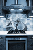 Modern gas cooker Royalty Free Stock Photography