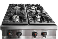 Modern gas hob Stock Photo