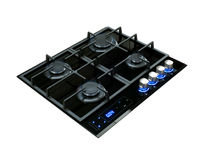 Modern gas hob Royalty Free Stock Images
