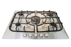 Modern gas kitchen stove. Stock Photo