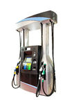 Modern gas pump. Isolated included clipping path Stock Photo