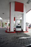 Modern gas station Royalty Free Stock Photography