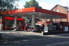 Modern gas station Stock Photos