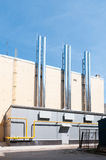 Modern gasketelhuis royalty-vrije stock foto's
