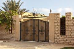 Modern gate Royalty Free Stock Photo
