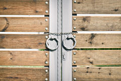 Modern gate Royalty Free Stock Images