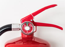 Modern gauge of the fire extinguisher. Stock Photography