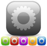 Modern Gears, cogwheels, gearwheels or cog icons. Repair, mainte Royalty Free Stock Photography