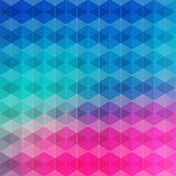 Modern geometric abstract background. Vector illustraton Royalty Free Stock Photo