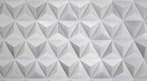Modern Geometric Aluminum Background Royalty Free Stock Images
