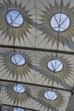 Modern geometric architecture Stock Image