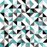 A green and black geometric background Royalty Free Stock Image