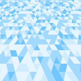 Modern geometric background with triangles. Vector illustration. Stock Image