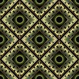 Modern geometric 3d greek vector seamless pattern. Luxury abstra. Ct ornamental background. Tiled patterned surface rhombus, shapes, circles. Trendy greek key stock illustration