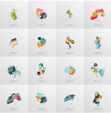 Modern geometric design temlates, universal Stock Photo